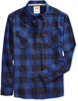 Levi's Men's Long-Sleeve Merchant Plaid Work Shirt