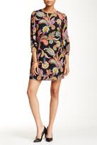 Alexia Admor 3/4 Length Sleeve Printed Shift Dress