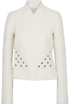 Rick Owens Snap-detailed Cashmere-fleece Jacket