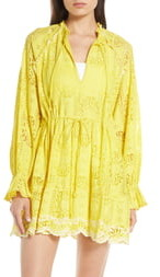 b342f23bee Embroidered Cover Up - ShopStyle