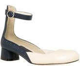 Max Studio Acacia2 – Polished Leather Block Heel Mary Janes