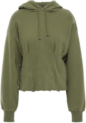 Current/Elliott French Cotton-terry Hoodie