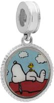 "Peanuts Sterling Silver ""Best Friends"" Snoopy Charm"