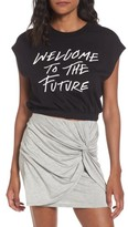 Volcom Women's Cut Cup Crop Graphic Tee