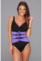 Magicsuit Solid Heather Tank One-Piece Women's Swimsuits One Piece