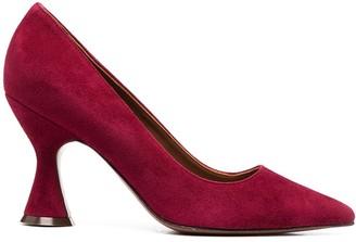 L'Autre Chose Suede Court Shoes