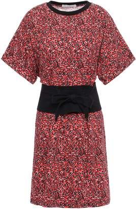 Rebecca Minkoff Marta Floral-print Cotton-jersey Mini Dress