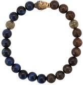 Nialaya Jewelry elasticated stone bracelet