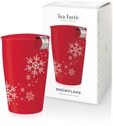 Tea Forte Holiday Snowflake Kati Steeping Cup & Infuser