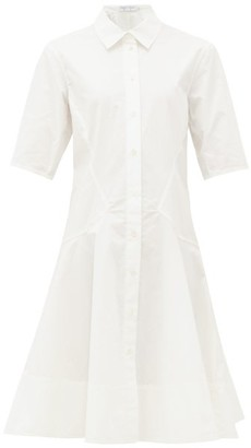 Proenza Schouler White Label Cotton-poplin Shirt Dress - Womens - White