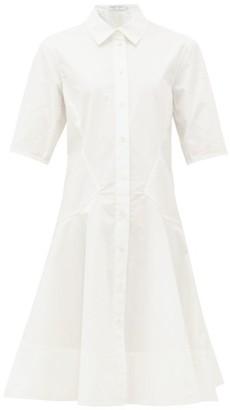 Proenza Schouler White Label - Cotton-poplin Shirtdress - Womens - White