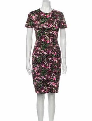 Givenchy 2014 Knee-Length Dress Purple