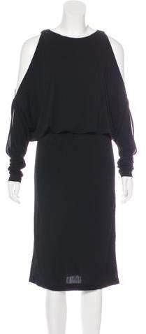 d1ab10a4f1 Michael Kors Cold Shoulder Dress - ShopStyle