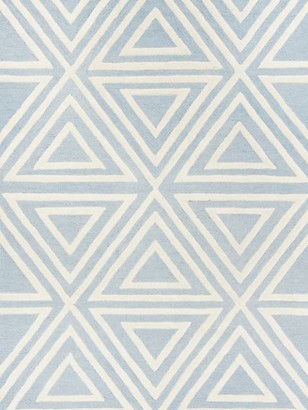 Safavieh Kid's Triangles Hand-Tufted Wool Rug