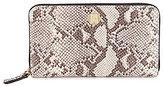 Antonio Melani Snake Zip-Around Wallet