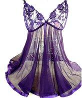 Lingerie, KIOP Charming Women Lingerie 1PC Sleepwear & 1PC Briefs (XXXL, )