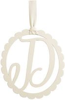 Mud Pie Scalloped Initial Wall Hanger - D