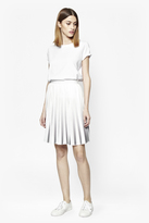 French Connection Miami Dip Dye Pleated Skirt