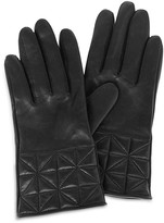 Karen Millen Quilted Leather Gloves