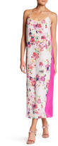 Charlie Jade Floral Silk Midi Slip Dress