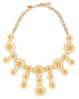 Kate Spade Tiered Flower Collar Necklace