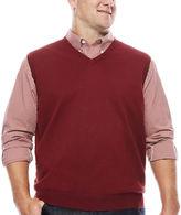 Izod Fieldhouse V-Neck Sweater Vest - Big & Tall