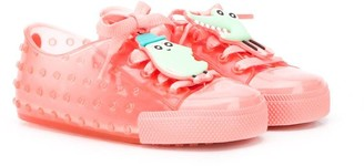 Mini Melissa Round Toe Jelly Sneakers
