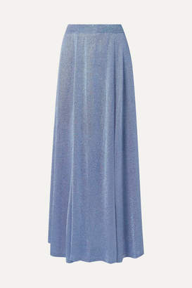 Missoni Lurex Maxi Skirt - Blue