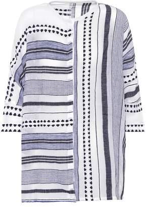 Lemlem Yeshi Snap cotton-blend shirt