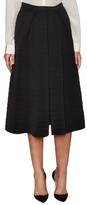Giorgio Armani Textured Pleated A Line Skirt