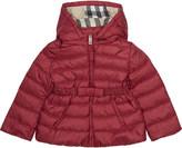 Burberry Janie mini puffa coat 6-36 months