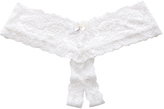 Hanky Panky Princess Lace Open Panty