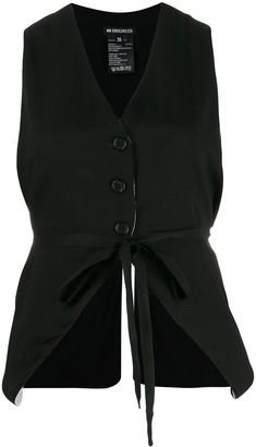 Ann Demeulemeester tie-waist waistcoat