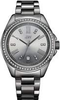 JBW J6340E Capri Japanese-Quartz Movement 12 Diamond Stainless Steel Women's Wrist Watch