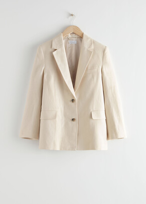 And other stories Oversized Boxy Blazer