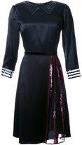Marc Jacobs sequin detail satin dress