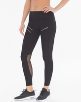 Soma Intimates Back Mesh Insert Sport Leggings