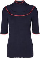 Vero Moda Navy Blazer Belvedere Top