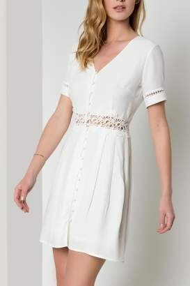 Urban Touch Lace Detailed Dress