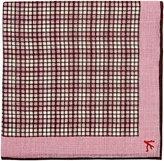 Isaia Men's Cotton-Linen Pocket Square