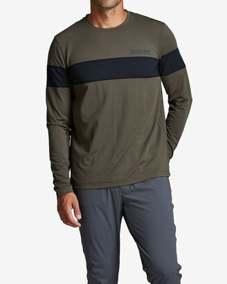 Express Fourlaps Long Sleeve Smash T-Shirt