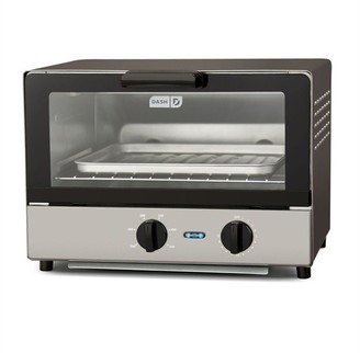DASH Compact Toaster Oven Graphite