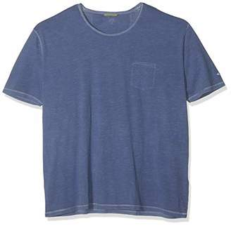 Camel Active Men's T-Shirt 1/2 Blue Core 15, Small