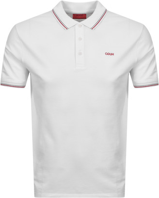 HUGO BOSS Dinoso 202 Polo T Shirt White
