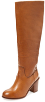 Seychelles Obsidian Tall Leather Boot