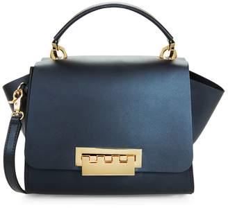 Zac Posen Eartha Winged Leather Shoulder Bag