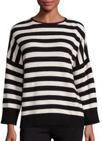 The Kooples Cashmere Blend Striped Sweater