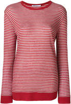 Alexander Wang casual striped jersey top