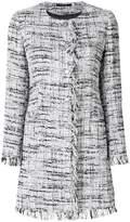 Tagliatore mid-length bouclé jacket