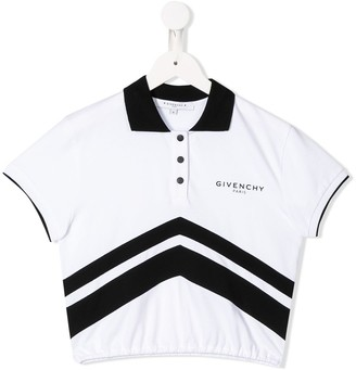 Givenchy Kids Logo Short-Sleeve Polo Shirt